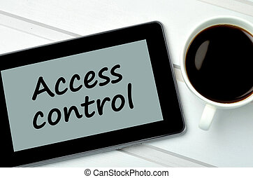 Access control on digital tablet pc