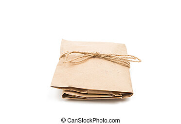gift bag on a white background