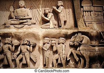Historyczny, indianin, Architektura