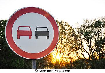 No passing - No passing