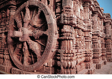 Konark Sun Temple - Magnificient craftsmanship at sun temple...