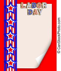Labor Day Background illustration - Labor Day Border...