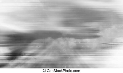 Black and white abstract loop nine - Animated background...
