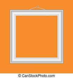 Vector realistic frame for your artwork or photos.