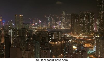 Time Lapse Hong Kong Panorama - Time lapse movie Hong Kong...