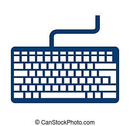 keyboard keypad computer icon