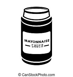 mayonnaise sauce food - mayonnaise sauce appetizer product...