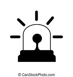 siren emergency light lamp bulb alert