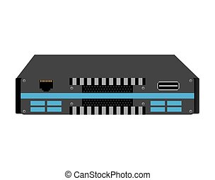 rack network device isolated icon