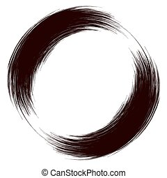 Grunge Round Frame