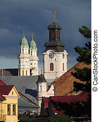 Three towers in Uzhgorod - One of the most beautiful views...