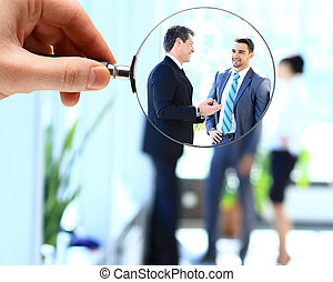 personnel search concept for business