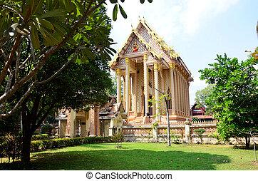 Luang, poo, Mun, Bhuridatta, Templo, ou, wat, pa, Sutthawat