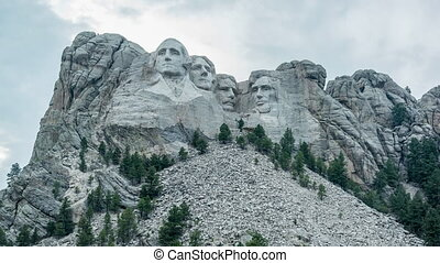 Mount Rushmore Time Lapse - Time lapse video of Mount...