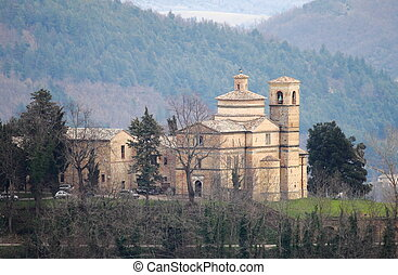 Saint Bernardino church in Urbino, Italy