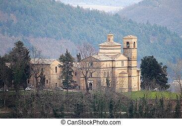 Saint Bernardino church in Urbino, Italy