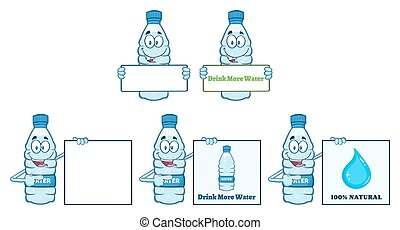 Water Plastic Bottle Collection - 2 - Water Plastic Bottle...