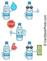 Water Plastic Bottle Collection - 6
