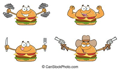 Burger Character Collection