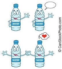 Water Plastic Bottle Collection - 3 - Water Plastic Bottle...