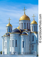 Dormition Cathedral (1160) in Vladimir, Russia - Dormition...