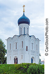 Church of the Intercession on the Nerl (1165), Russia