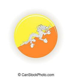 Butane icon circle - icon circle isolated on white...