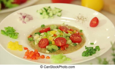 Salsa vegetable mix - Presentation of sasla vegetable mix