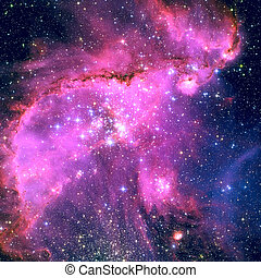 NGC 346 is an open cluster in the constellation Tucana. -...