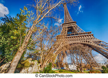 Paris. The Eiffel Tower