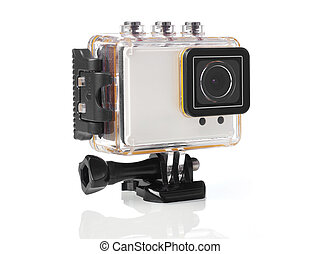 Waterproof camera - Shock and waterproof camera in case,...