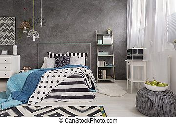 Bedroom with modern soul