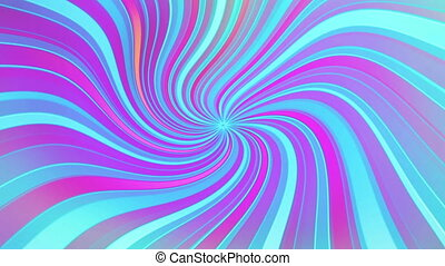 Retro Swirl Looping Abstract