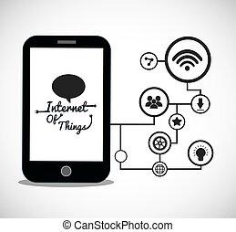 smartphone internet of things design