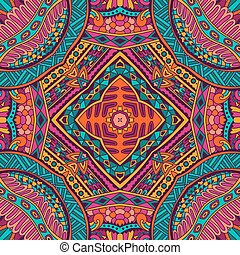 Abstract ornametal vector ethnic tribal pattern - Abstract...