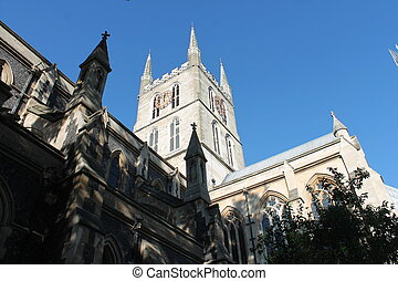 Southwark Cathedral London England built in 666ad