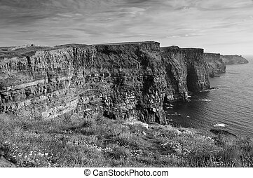 famous cliffs of mohair west coast ireland - photo famous...