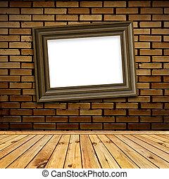 art frame in interior