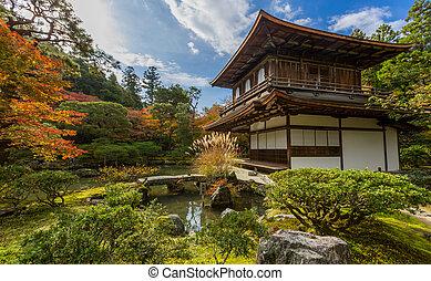 Kyoto Ginkakuji temple - Kyoto Silver Pavillion Ginkakuji...