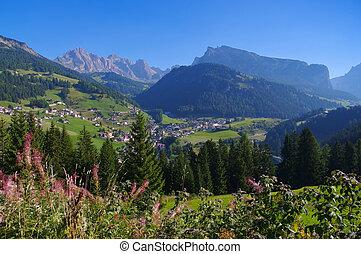 Val Gardena St. Christina in Alps, Dolomites