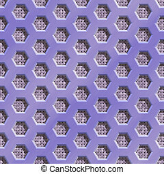 Wire mesh fabric seamless generated hires texture or...