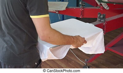 Screen printing manufacturing on