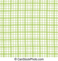 Green checkered pattern