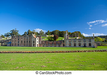 Port Arthur Penitentiary Building - The penitentiary...
