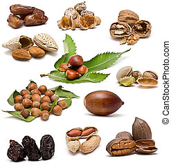 Nuts collection.