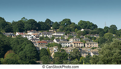 Aerial View Houses, Housing Estate