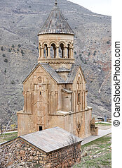 Ancient monastery Noravank in Armenia - Ancient monastery...