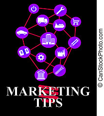 Marketing Tips Shows EMarketing Advice And Promotions -...