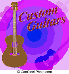 Custom Guitars Shows Bespoke Guitar Made To Order - Custom...