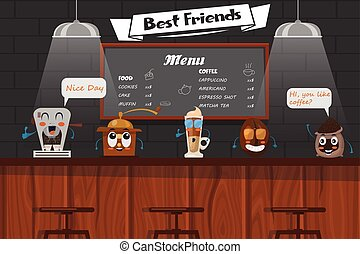 Funny Best Friends Of Barista - Funny best friends of...